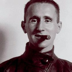 Bertolt Brecht - world renowned playwright and composer