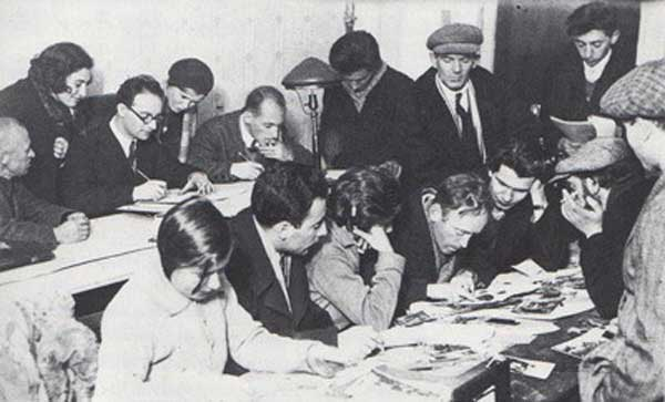 Heartfield Moscow Seminar, 1931-1932