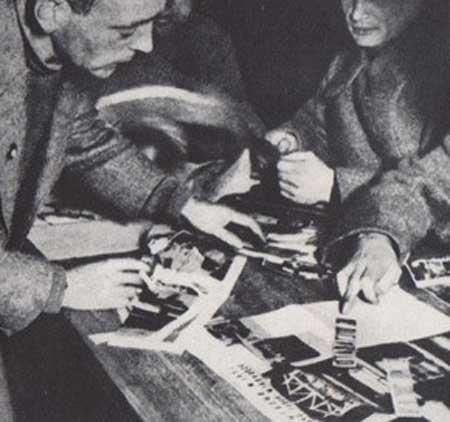 Heartfield teaching in Moscow, 1931-1932