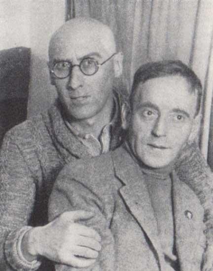 John Heartfield with Sergei Tretyakov