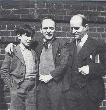 Heartfield, Herzfelde, Herzfelde's son,George
