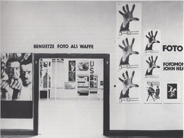 Heartfield Room, International Werkbund Exhibition FILM UND FOTO, Stuttgart 1929