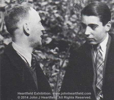 John And Tom Heartfield, Prague, 1937