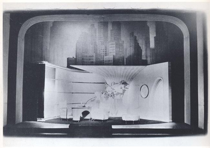 Heartfield German Theater Stage Set Mother Riba 1955