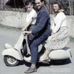 John J Heartfield and Gertrud Heartfield in Italy, circa 1960
