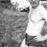 Photo of John Heartfield's frail body