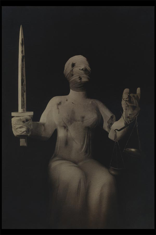 john heartfield political collage The Executioner and Justice
