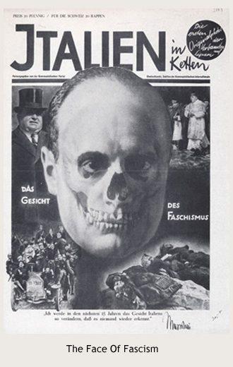 John Heartfield's The Face Of Fascism
