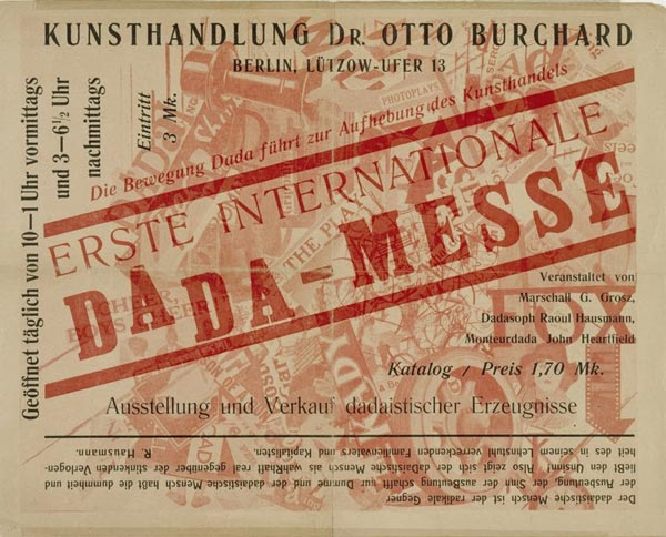Erste Internationale Dada-Messe, 1920