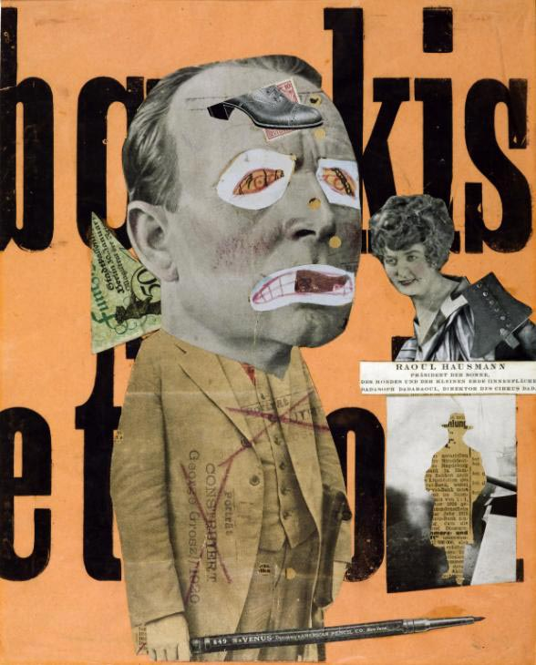 Raoul Hausmann, The Art Critic, 1919