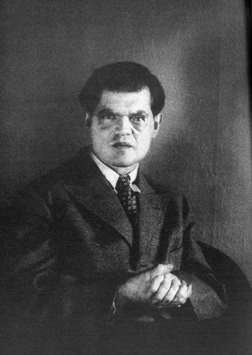 A Portrait Of Dada Artist Raoul Hausmann