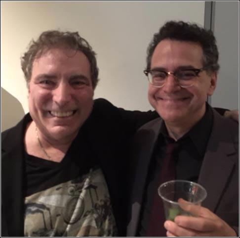 (L-R) John J Heartfield, Peter Maravelis