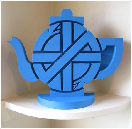 <em>Make Tea Not War</em><br />David King
