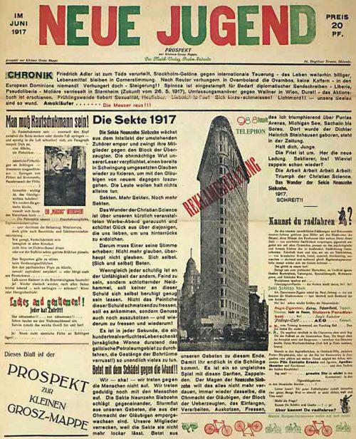 <em>Neue Jugend</em>, 1917