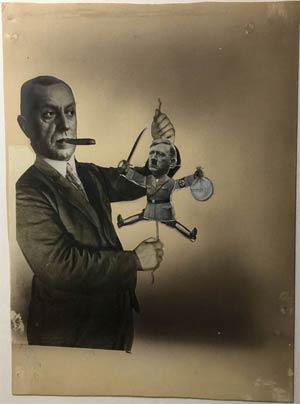 Russian Puppet Trump Like Fritz Thyssen Puppet Adolf Hitler