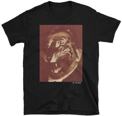 john heartfield image t-shirt political party crisis SPD