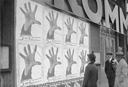 5 Finger hat die Hand poster