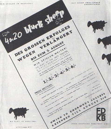 wieland herzfelde england 4 & 20 Black Sheep, London, 1939