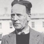 An ill John Heartfield, England, 1940
