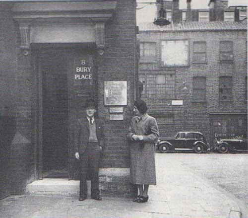 Wieland Herzfelde England & Heartfield third wife Gertrud Heartfield, 1939