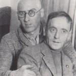 Tretiakov and Heartfield, Moscow, 1931