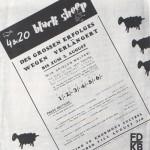 4 & 20 Black Sheep Playbill, 1939
