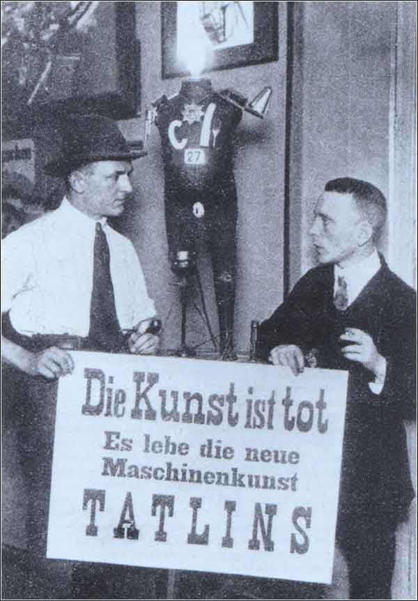 Dadaists George Grosz and John Heartfield