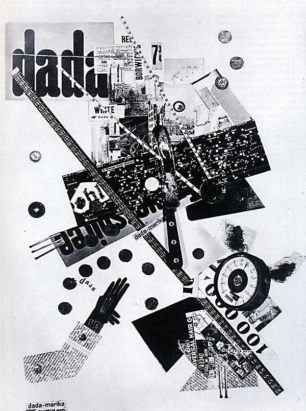 Grosz Heartfield, Dada-merika, 1919