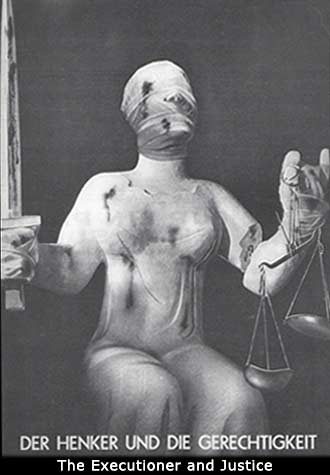 Famous political art german artist heartfield executioner justice