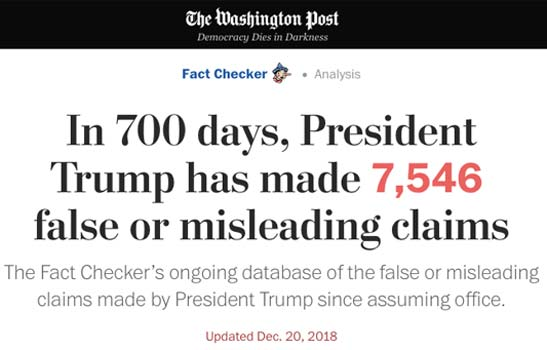 Washington Post Trump Fact Checking Trump Fascist Tactics