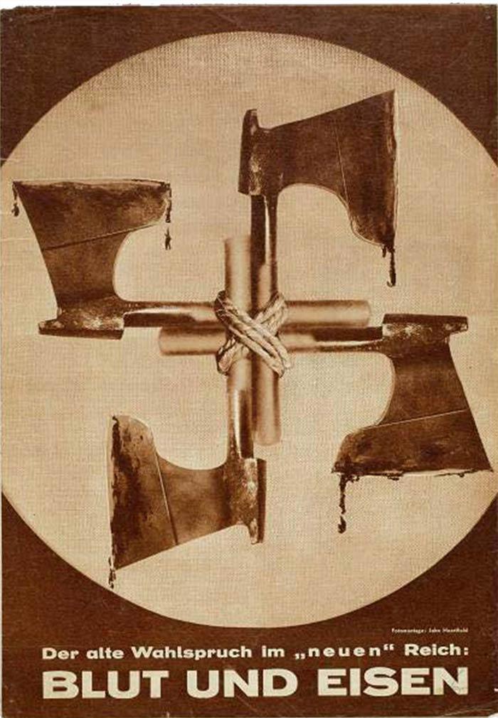 nazi symbol blood iron blut eisen john heartfield
