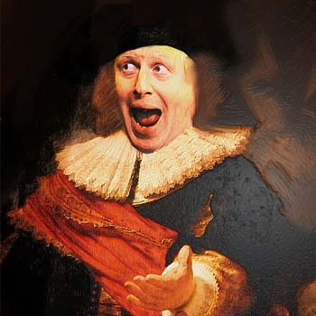 gordon coldwell collage boris johnson portrait john heartfield influence
