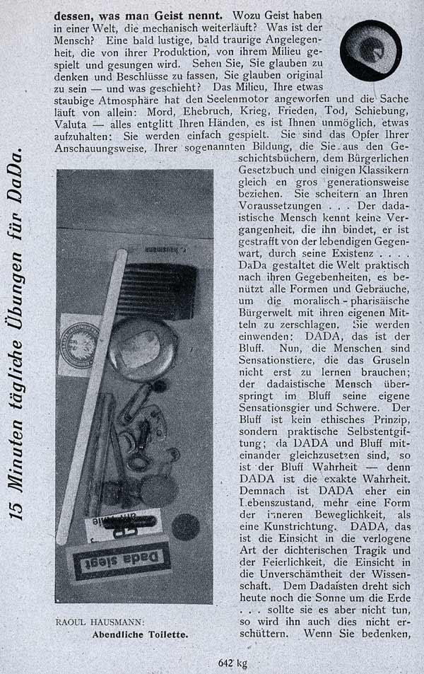 John Heartfield George Grosz Der Dada