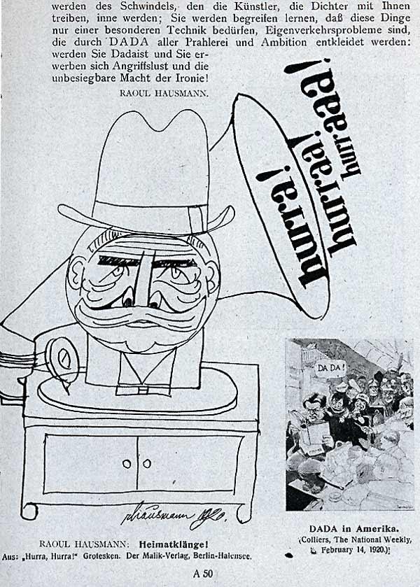 John Heartfield Raoul Hausmann Der Dada