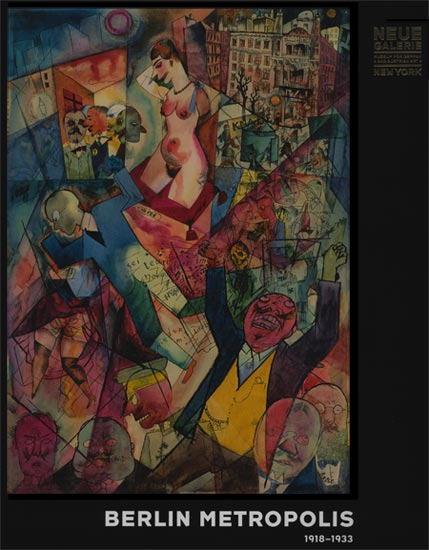 neue galerie german dada and political art catalog