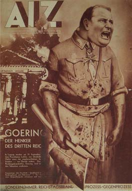 Famous Anti-Fascist Art - Goering The Executioner by John Heartfield