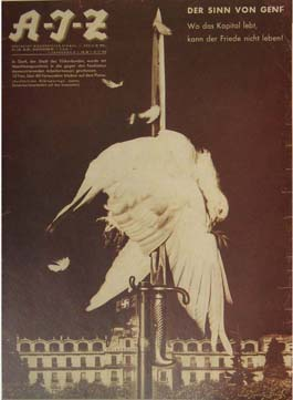 The Meaning Of Geneva by John Heartfield