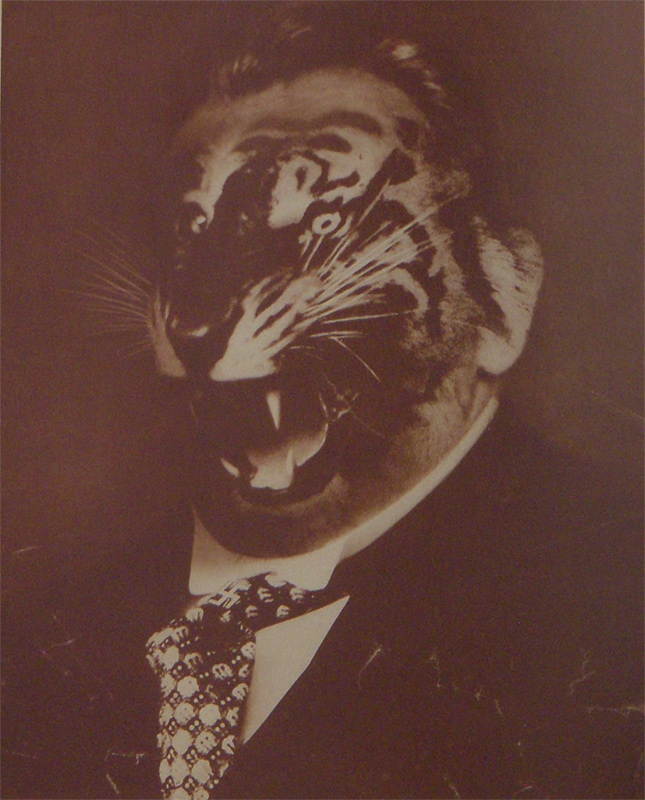 john heartfield political collage On The Republican Party Crisis