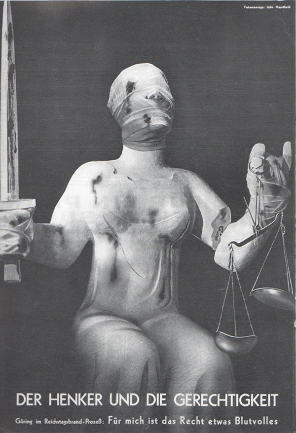 john heartfield anti-fascist collage The Executioner and Justice