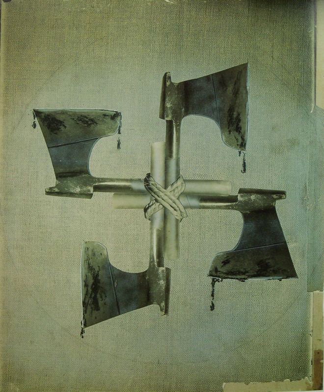 blood and iron john heartfield famous image of ww2 german fascism