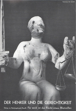 Executioner and Justice by John Heartfield
