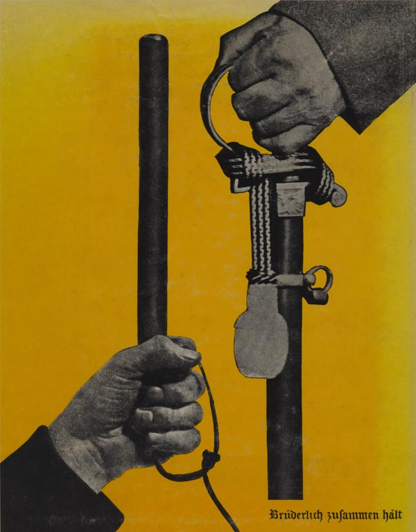 weimar republic culture john heartfield political collage Germany, Germany, Above All