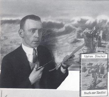 Revolutionary Graphics John Heartfield Upton Sinclair Book Cover