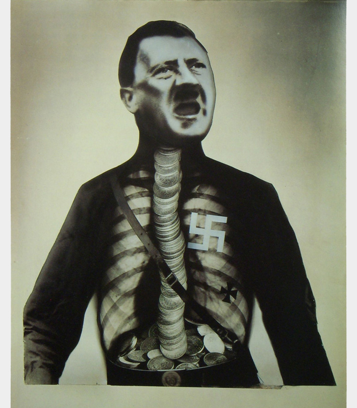 John Heartfield's Montage Adolf The Superman