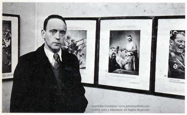 John Heartfield Life Exposition, Paris, 1935