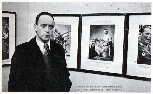 John Heartfield Exposition, Paris, 1935