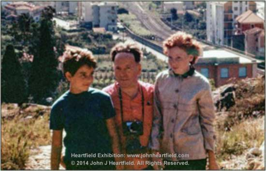 John Heartfield and Exhibition curator, John J Heartfield