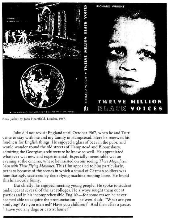 anti-fascist artist England refugee John Heartfield