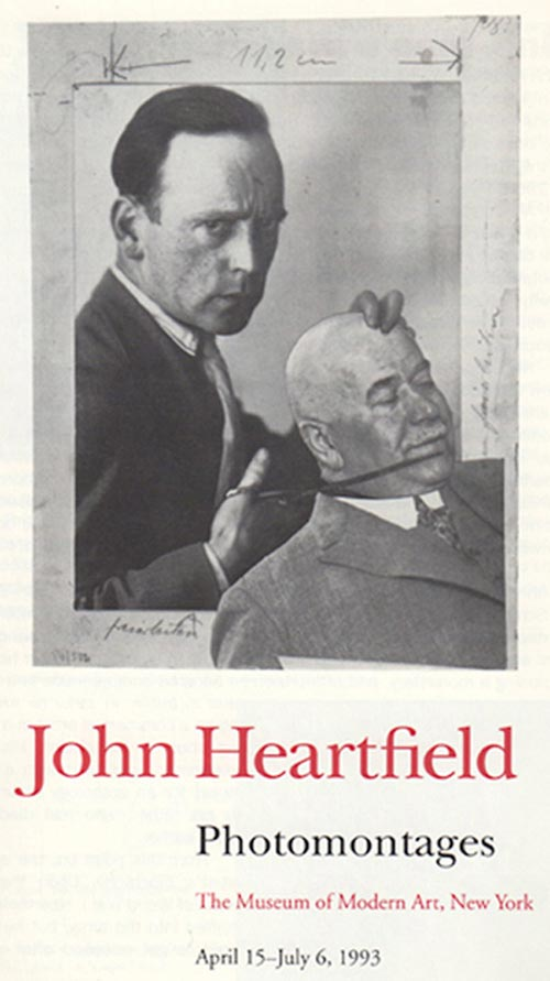 John Heartfield MOMA Exhibition
