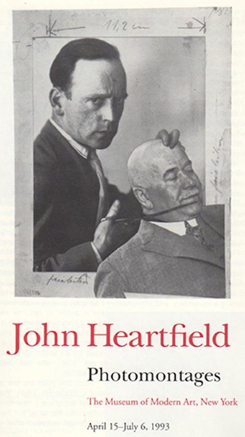 John Heartfield MOMA Exhibition
